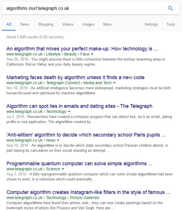 algorithms-telegraph